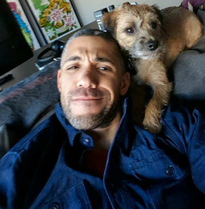 Peter & his dog